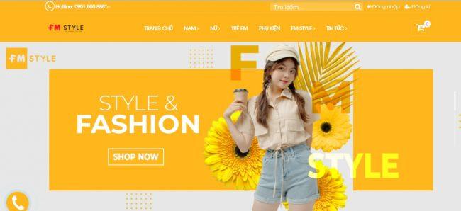 Shop quần áo nữ FM Style