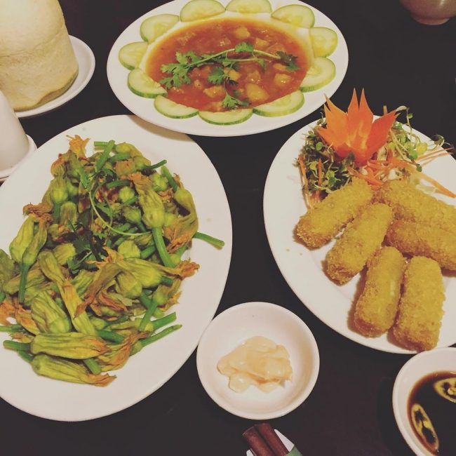 Quán chay ngon Quang Minh