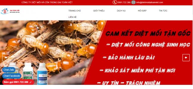 Công ty diệt mối Đại Toàn Việt