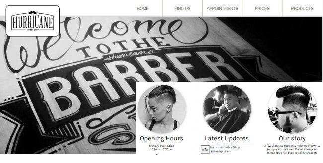 Hurricane Barber Shop
