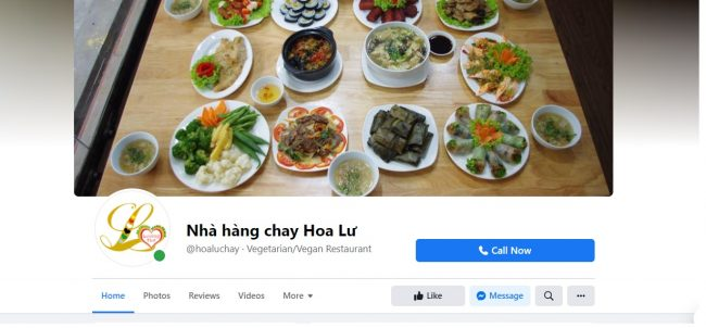 Nhà Hàng Chay Hoa Lư (LOVING HUT)