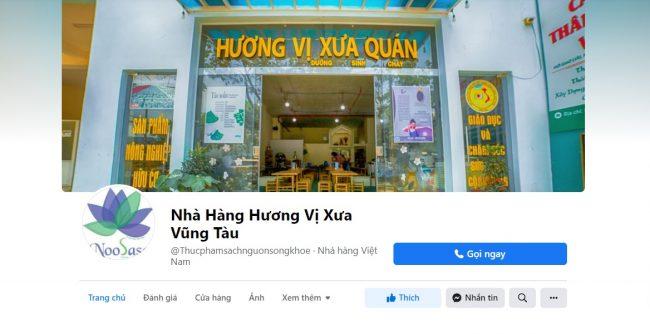 Nhà hàng Hương vị xưa, Vũng Tàu