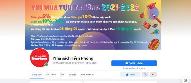 Nhà sách Tiền Phong
