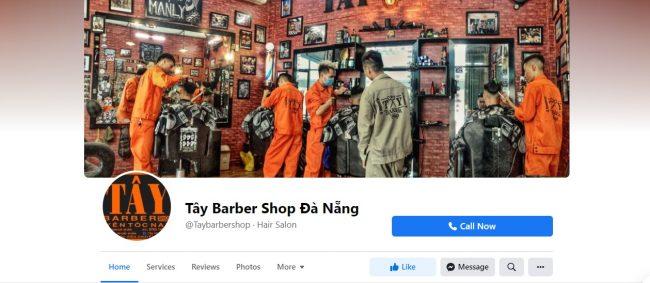 Tây Barber Shop - tiệm cắt tóc nam đẹp tại Đà Nẵng