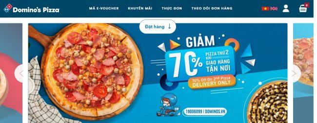 Thương hiệu bánh pizza ngon Domino