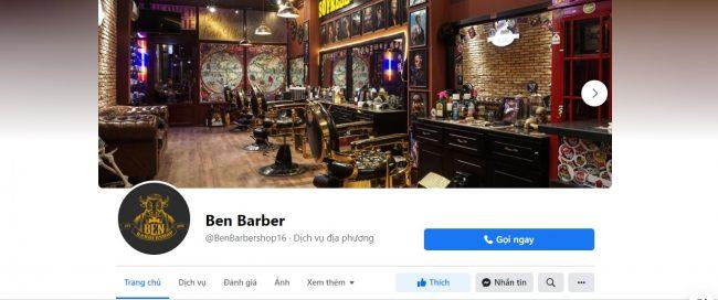 Tiệm cắt tóc nam đẹp tại Cần Thơ - Ben Barber