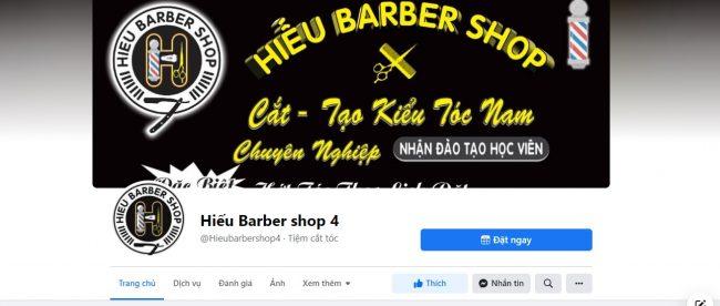Tiệm cắt tóc nam đẹp tại Cần Thơ - Hiếu Barber Shop