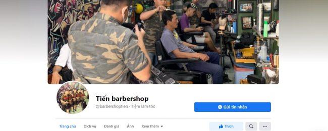 Tiệm cắt tóc nam đẹp tại Cần Thơ - Tiến barbershop