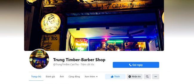 Trung Timber-Barber Shop ở Cần Thơ
