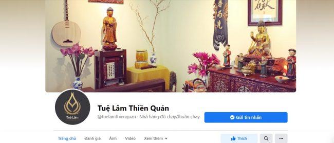 Tuệ Lâm Thiền Quán Chay, Thanh Hóa