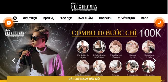 viện Tóc - Luxury Man