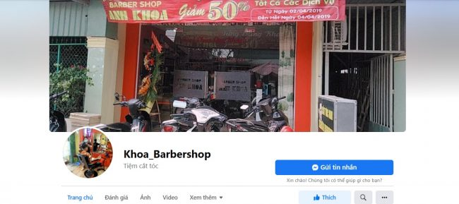 Anh Khoa Barbershop Bình Thuận