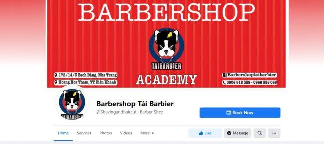 Barbershop Tài Barbier Khánh Hòa