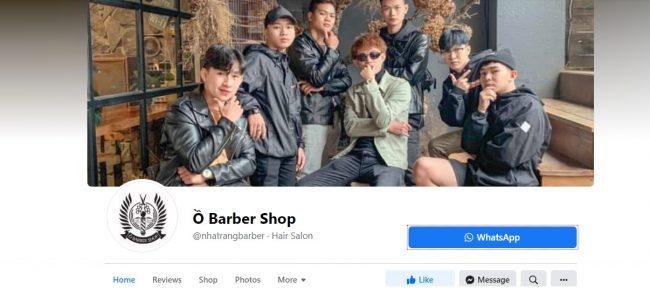 Ồ Barber Shop Nha Trang, Khánh Hòa