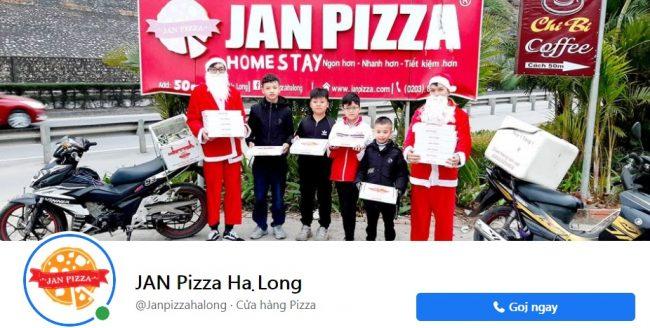 Thương hiệu bánh pizza ngon Jan Pizz