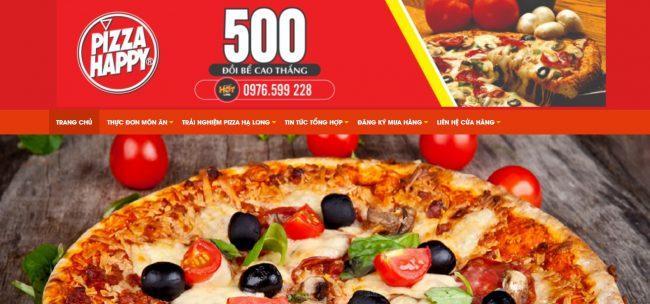 Thương hiệu bánh pizza ngon Pizza Happy