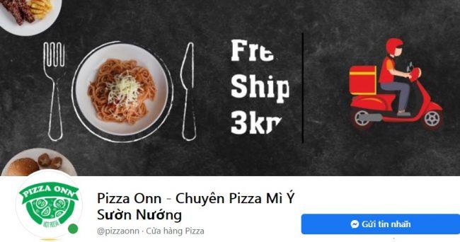 Thương hiệu bánh pizza ngon Pizza Onn