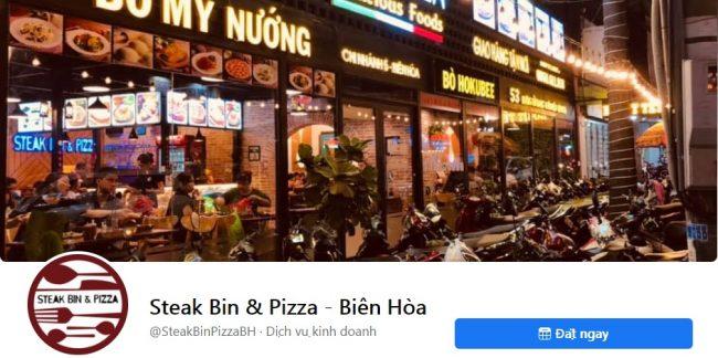 Thương hiệu bánh pizza ngon Steak Bin & Pizza - Biên Hòa