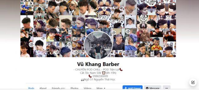 Vũ Khang Barber shop